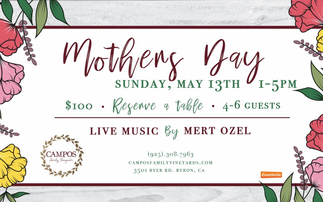 2nd Annual Mother's Day Celebration – Sold Out