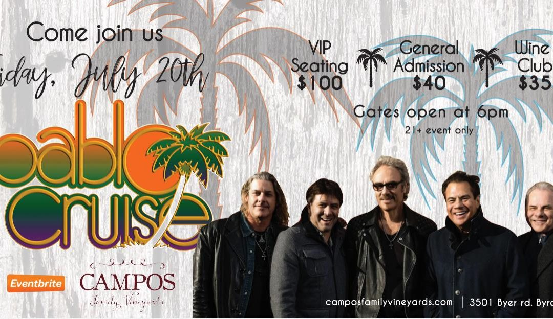 SOLD OUT – Pablo Cruise