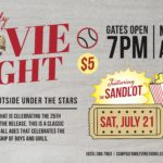 Family Movie Night – The Sandlot