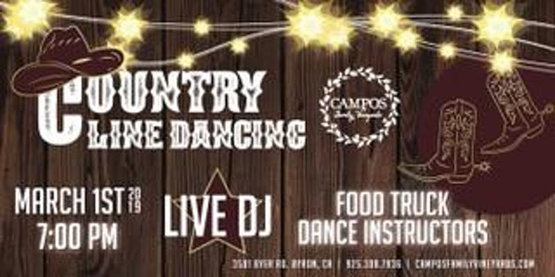 Country Line Dancing Night