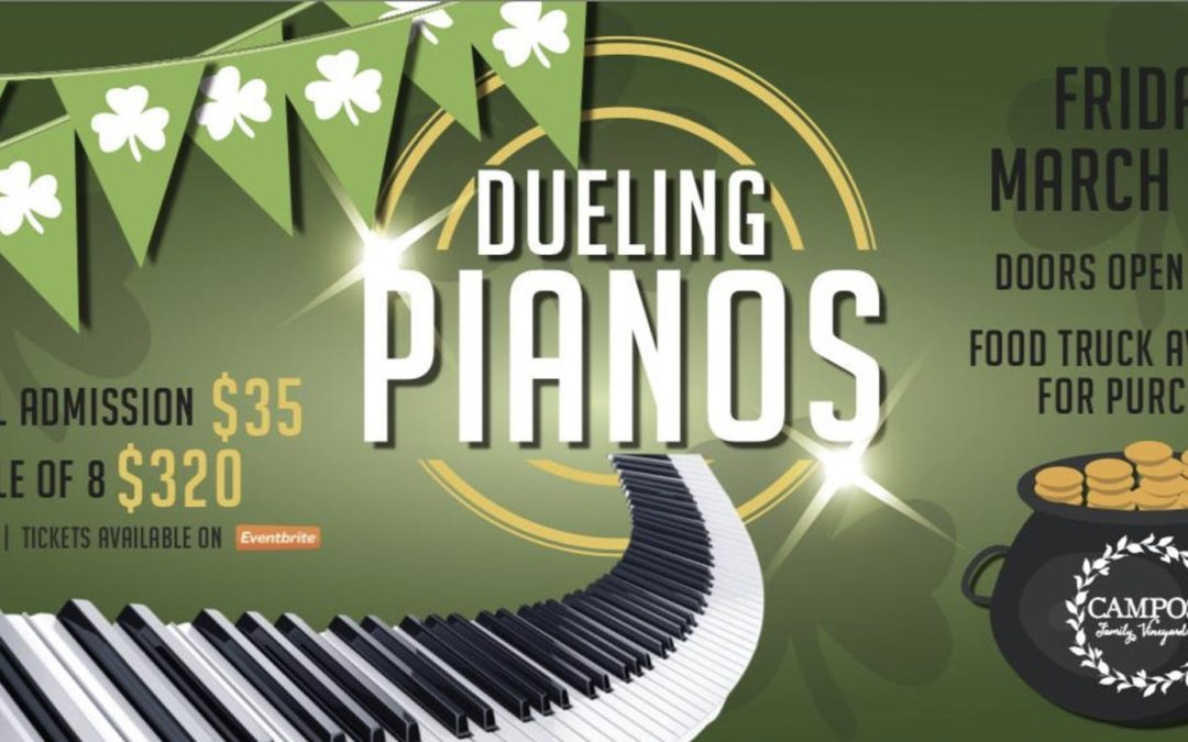 Dueling Pianos – St. Patrick's Day Weekend