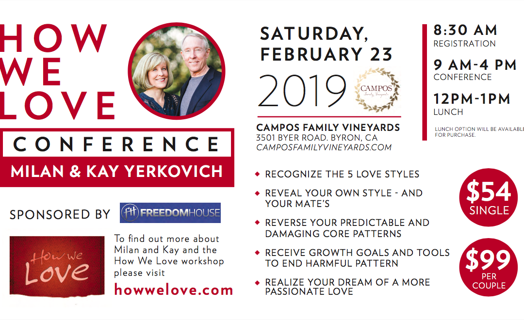 How We Love – Relationship Conference