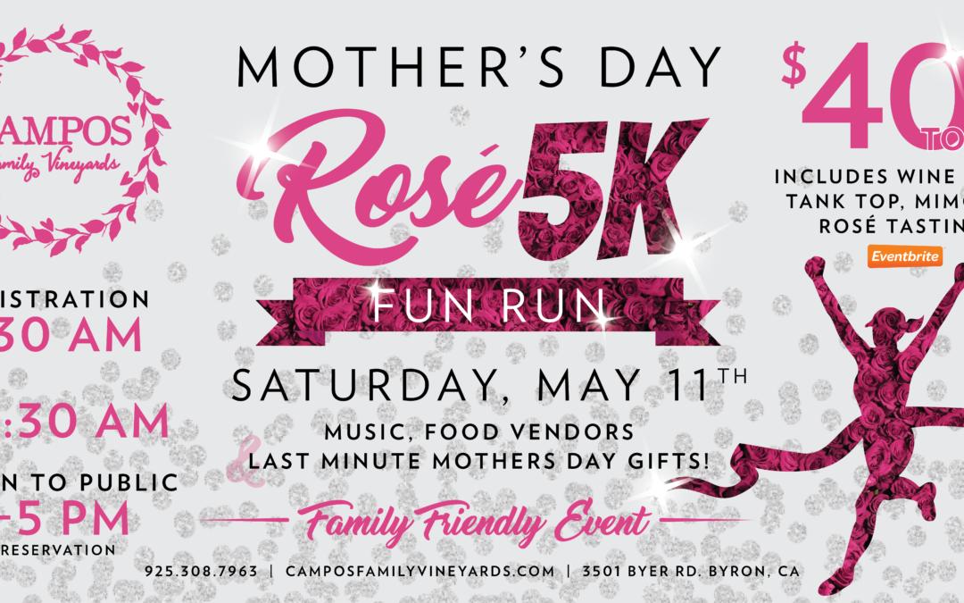Mother's Day Rose 5k – Fun Run
