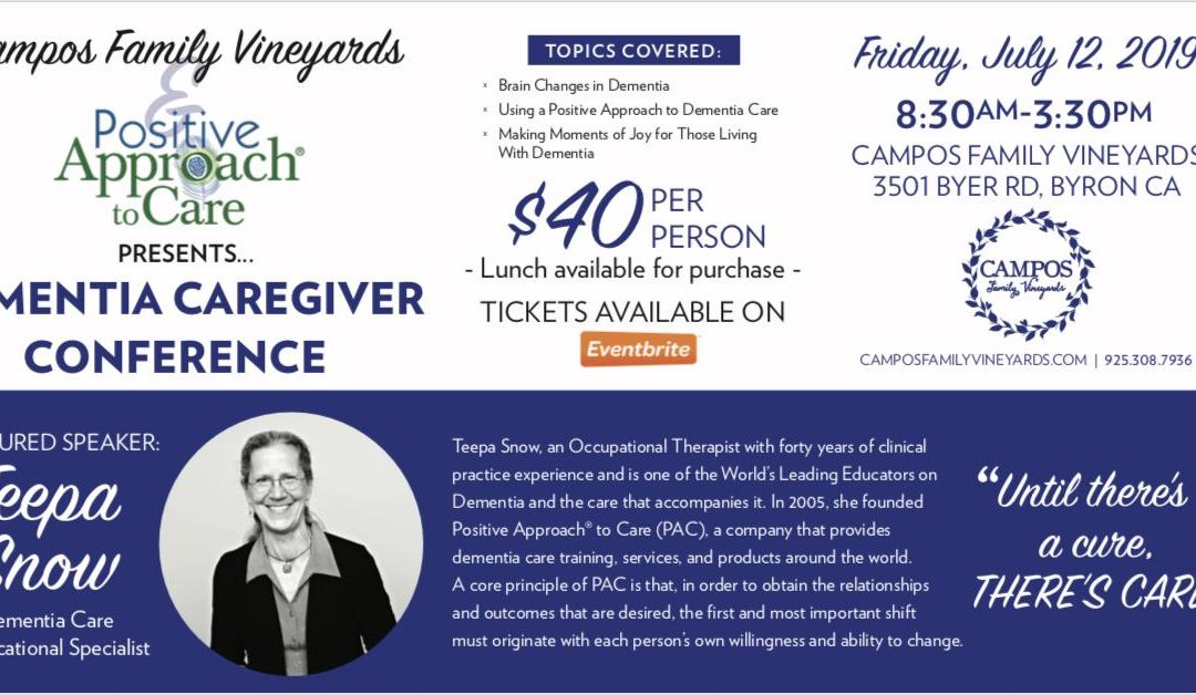 Teepa Snow – Dementia Caregiver Conference