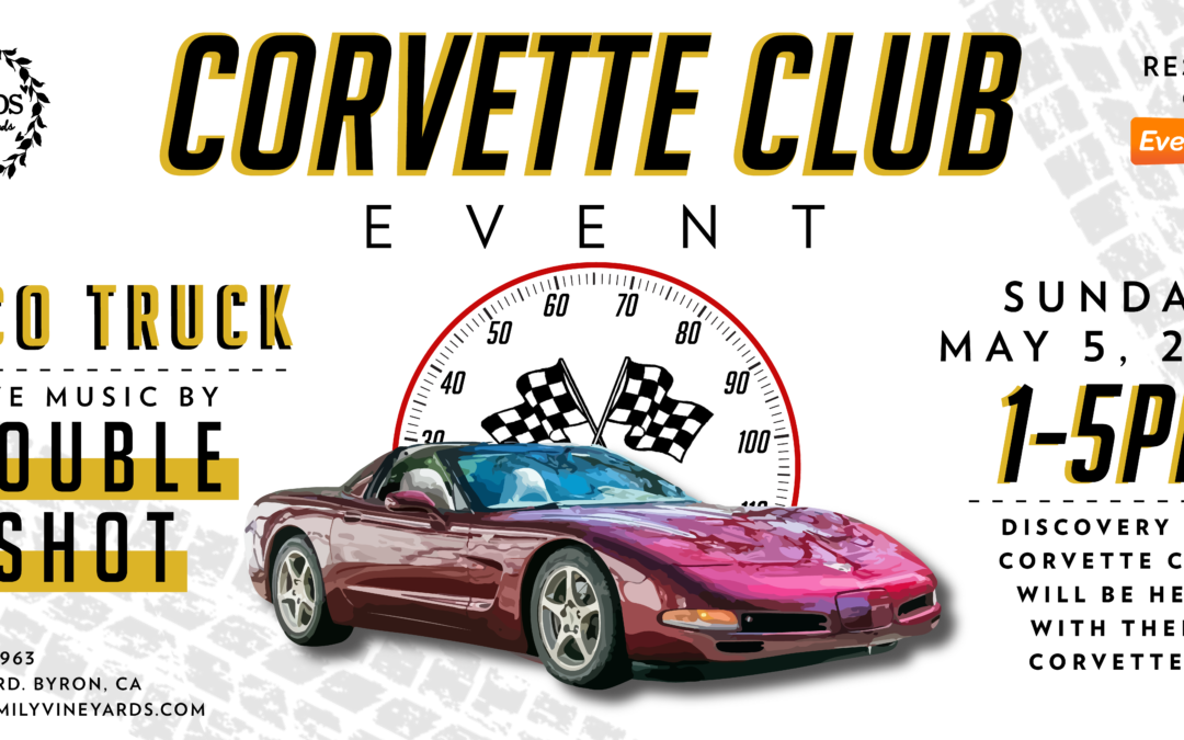 LIVE Music – Corvette Club – Cinco de Mayo