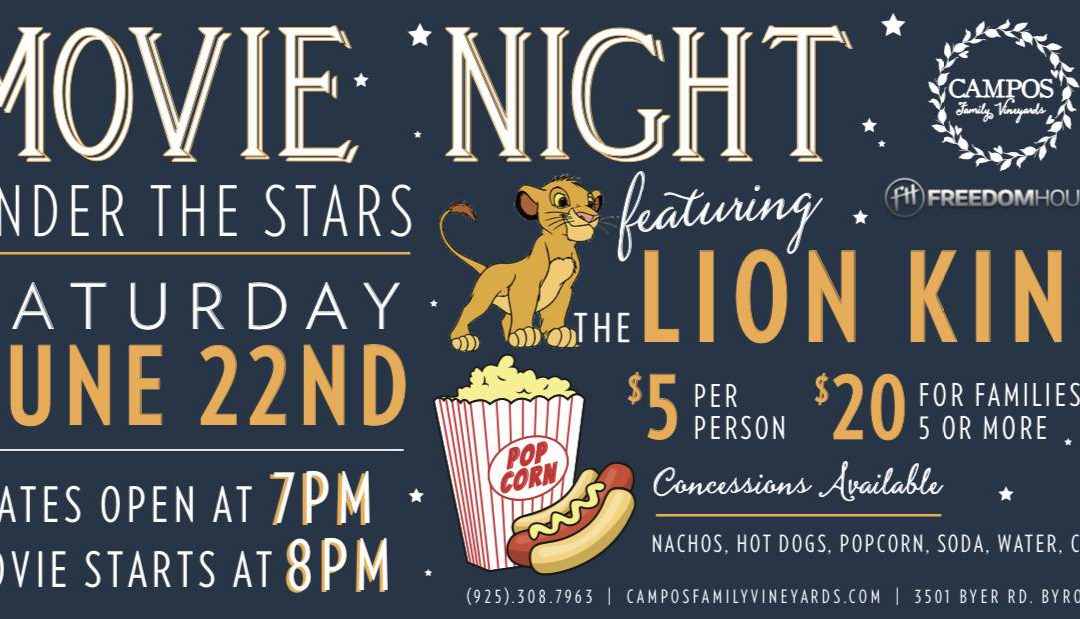 Movie Night – The LION KING