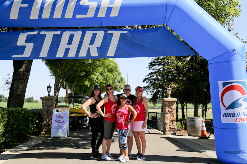 Inaugural Rose 5k at Campos Family Vineyards