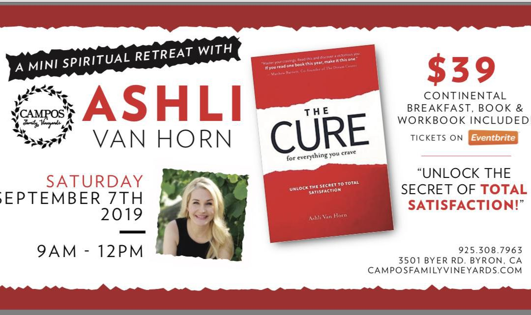 The Cure – A Mini Spiritual Retreat with Ashli VanHorn