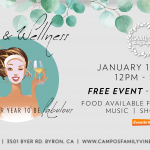 Wine & Wellness Sip & Shop