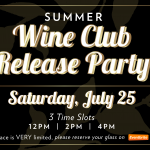 Summer Wine Club Release Party