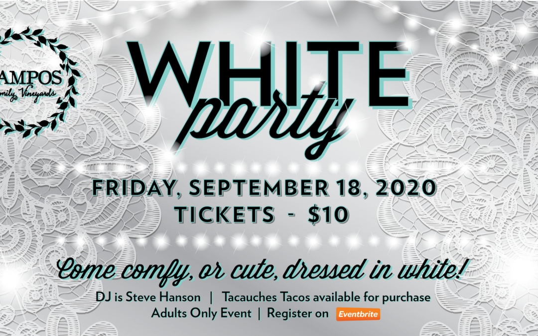 WHITE PARTY – DJ Steve Hanson