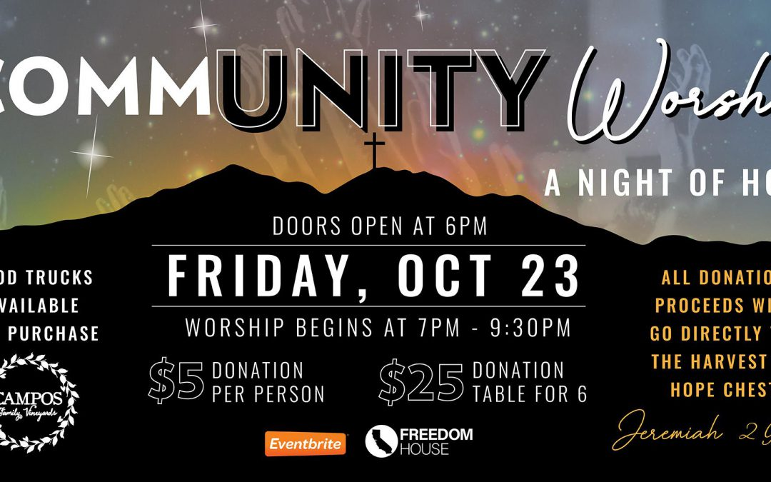 CommUNITY Worship – A Night of Hope!