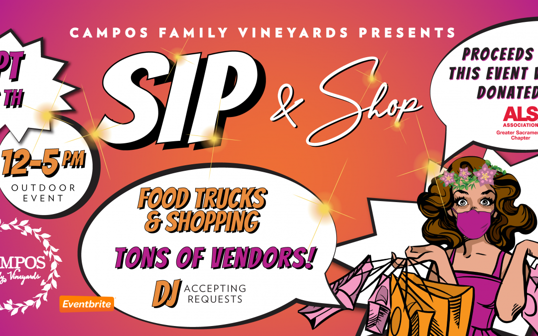 SIP and SHOP!