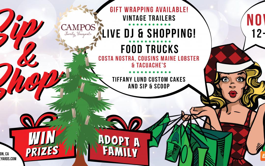 Holiday Sip and Shop at Campos Family Vineyards