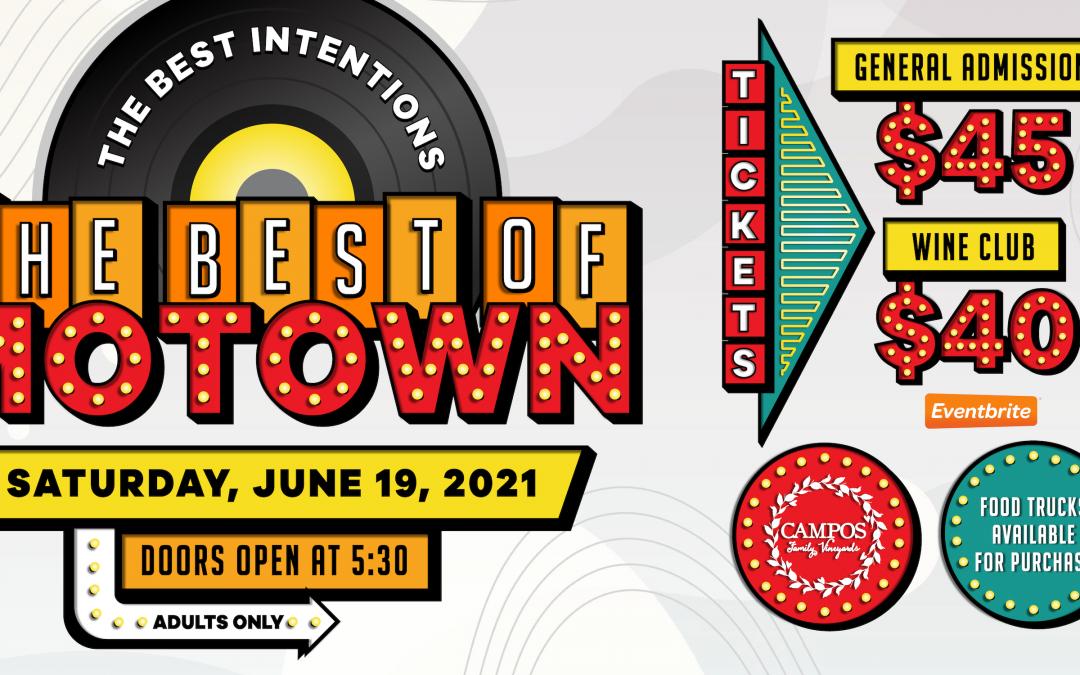 Motown – Summer Concert – The Best Intentions