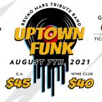 Uptown Funk- Summer Concert – Bruno Mars Tribute Band