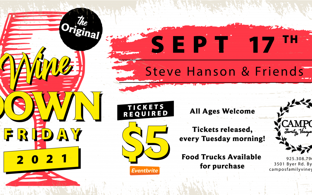 The Original Wine Down Friday – Steve Hanson & Friends!