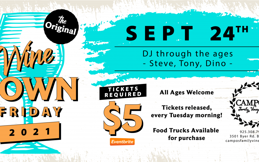 The Original Wine Down Friday – DJ Thru the Ages! THE LAST ONE OF 2021!