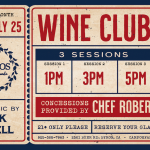 Summer Wine Club Release Party – For Members Only.